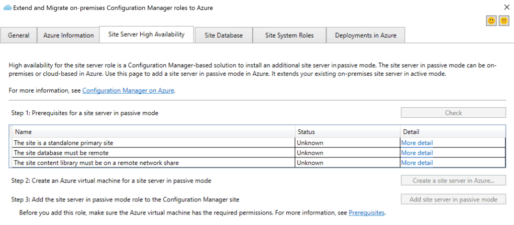 SCCM 1909 New Features  - Azure Subscription and V next, Express Route