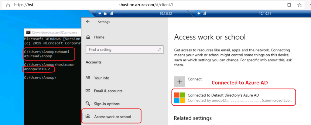 How to Take RDP of Azure AD Joined Azure VM using Bastion 3