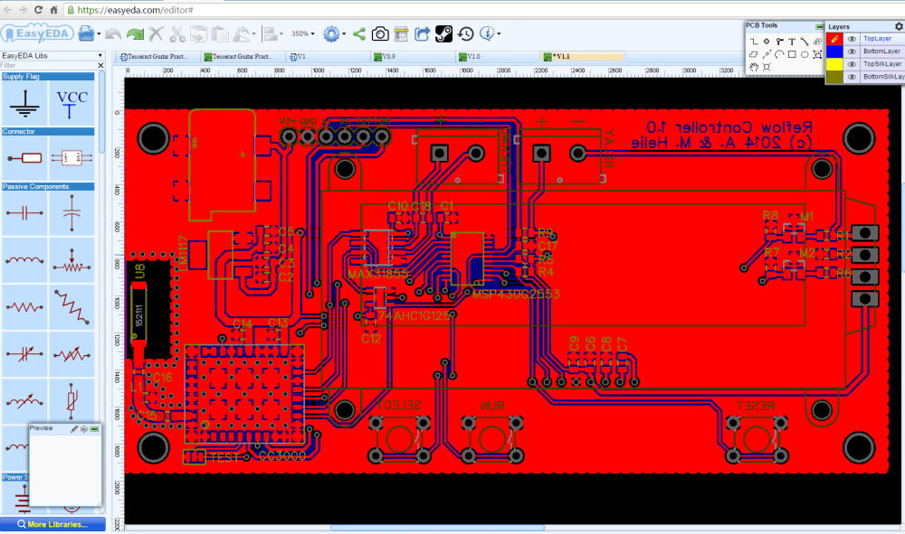 medium resolution of circuit simulator and pcb design software easyeda howtomechatronics free electronic circuit simulator electronic circuit schematic simple source
