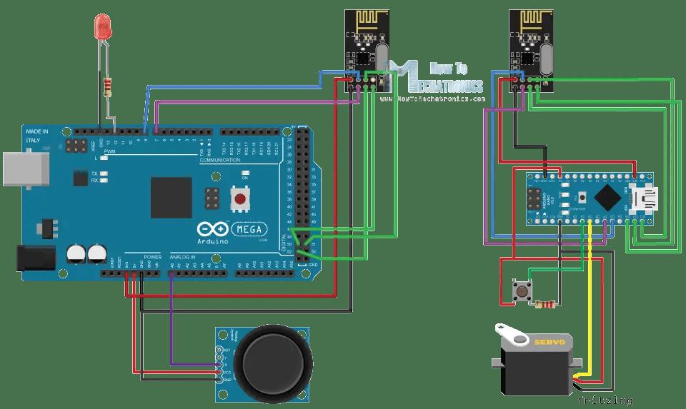 Arduino Wireless Communication  NRF24L01 Tutorial