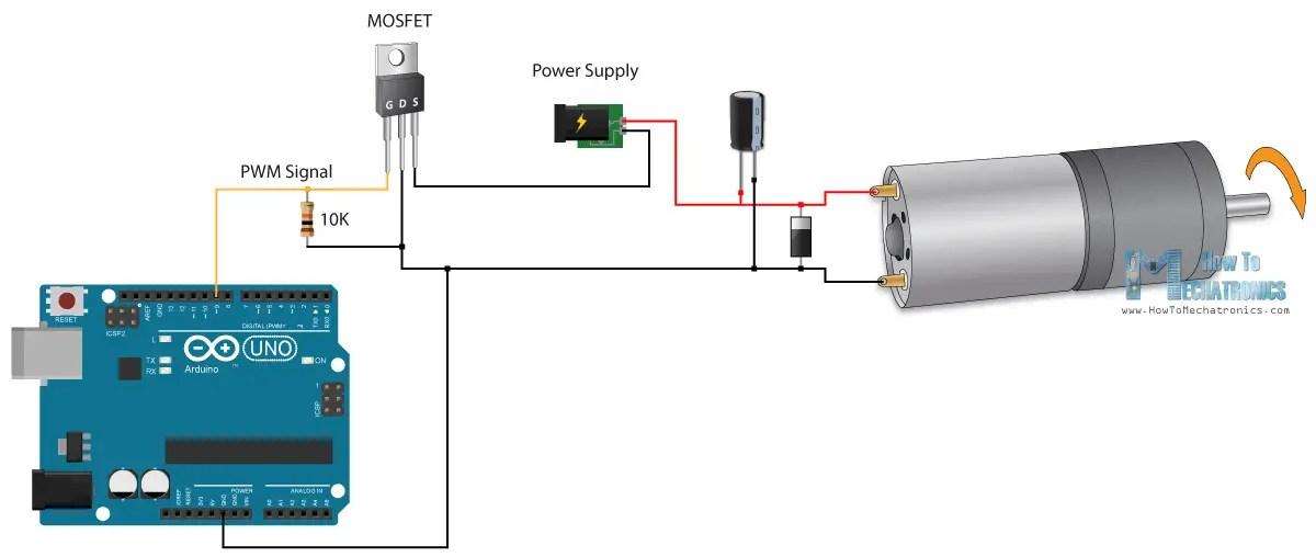 Arduino Dc Motor Control H Bridge  impremedia