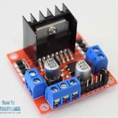 L298 H Bridge Circuit Diagram Forest Canopy Arduino Dc Motor Control Tutorial L298n Pwm Dual Driver