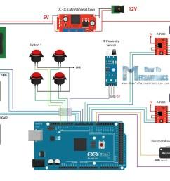 diy vending machine arduino based mechatronics project vending machine  wiring diagram