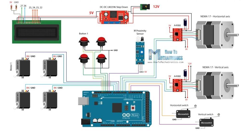 medium resolution of diy vending machine arduino based mechatronics  project vending machine wiring diagram