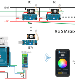 how to control ws2812b individually addressable leds using arduinocreativity hero interactive led coffee table circuit schematic [ 1200 x 675 Pixel ]