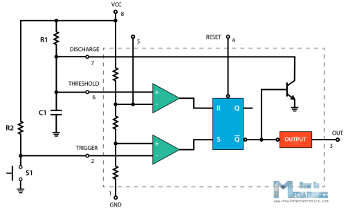 small resolution of 555 timer monostable mode