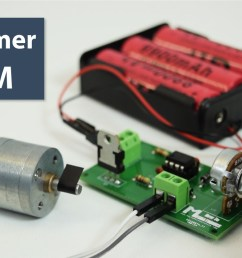 how to make a pwm dc motor speed controller using the 555 timer ic howtomechatronics [ 1280 x 720 Pixel ]