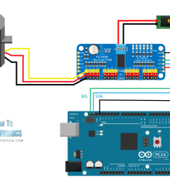 arduino and pca9685 circuit schematic [ 1280 x 745 Pixel ]