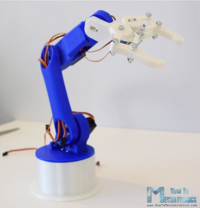 Electronics Tricks And Tips Diy Arduino Robot Arm With
