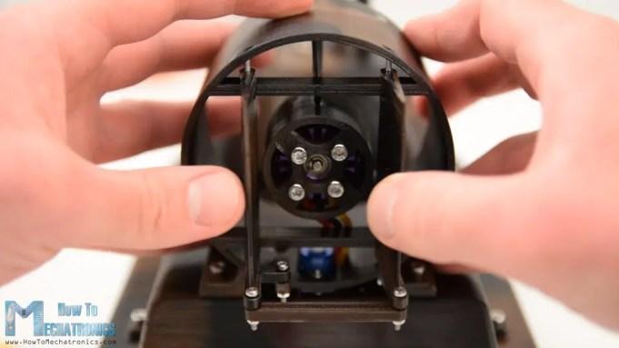 DIY Arduino RC Hovercraft Rudders - Steering system