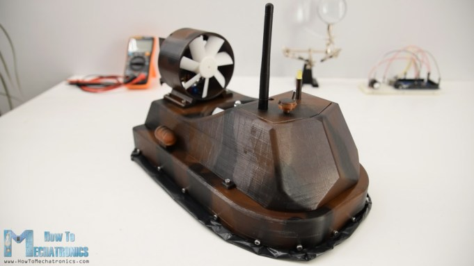 DIY RC Hovercraft - Arduino Project