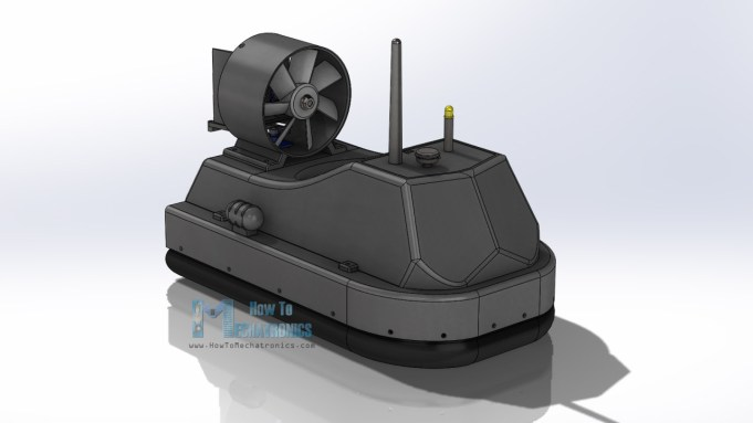 Hovercraft 3D Model - Free download