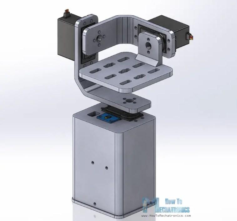Arduino Gimbal 3D Model