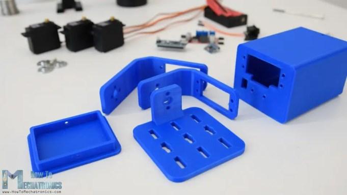 DIY Gimbal 3D printed parts