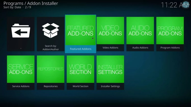 featured addons on fusion addon installer for kodi 17 estuary