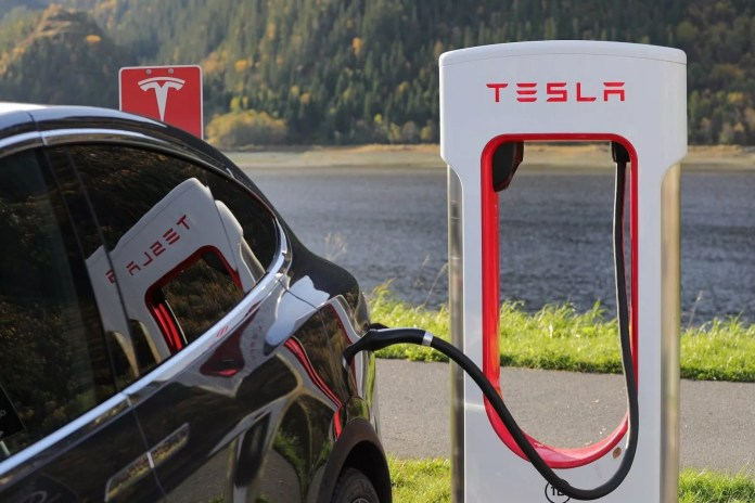 How long does it take to charge a Tesla using different chargers?