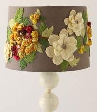 Anthropologie Knock-Off: Embellished Lamp Shade - Jenna Burger