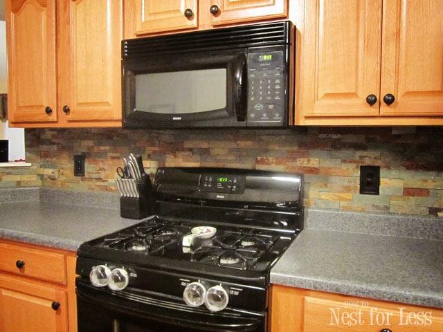 stone kitchen backsplash power grommet how to nest for less yes