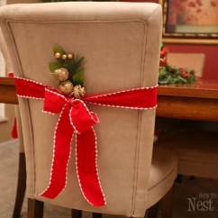 Chair Cover Christmas Decorations Swivel Rocking Outdoor Chairs Pinterest Project Parson Covers For How To Nest Total