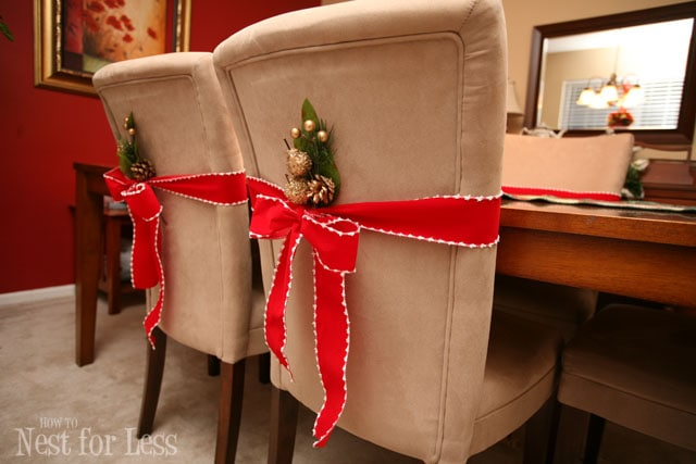holiday decorative chair covers bean bag images pinterest project: parson for christmas - how to nest less™