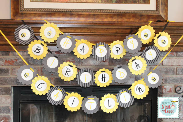 Bee Themed Baby Shower Decorations