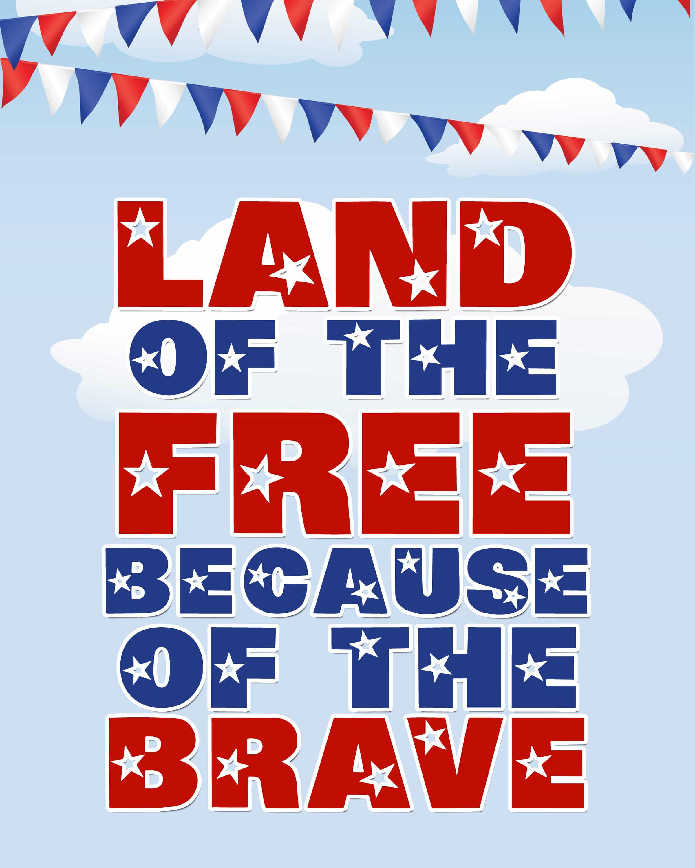 Happy Memorial Day Free Printables