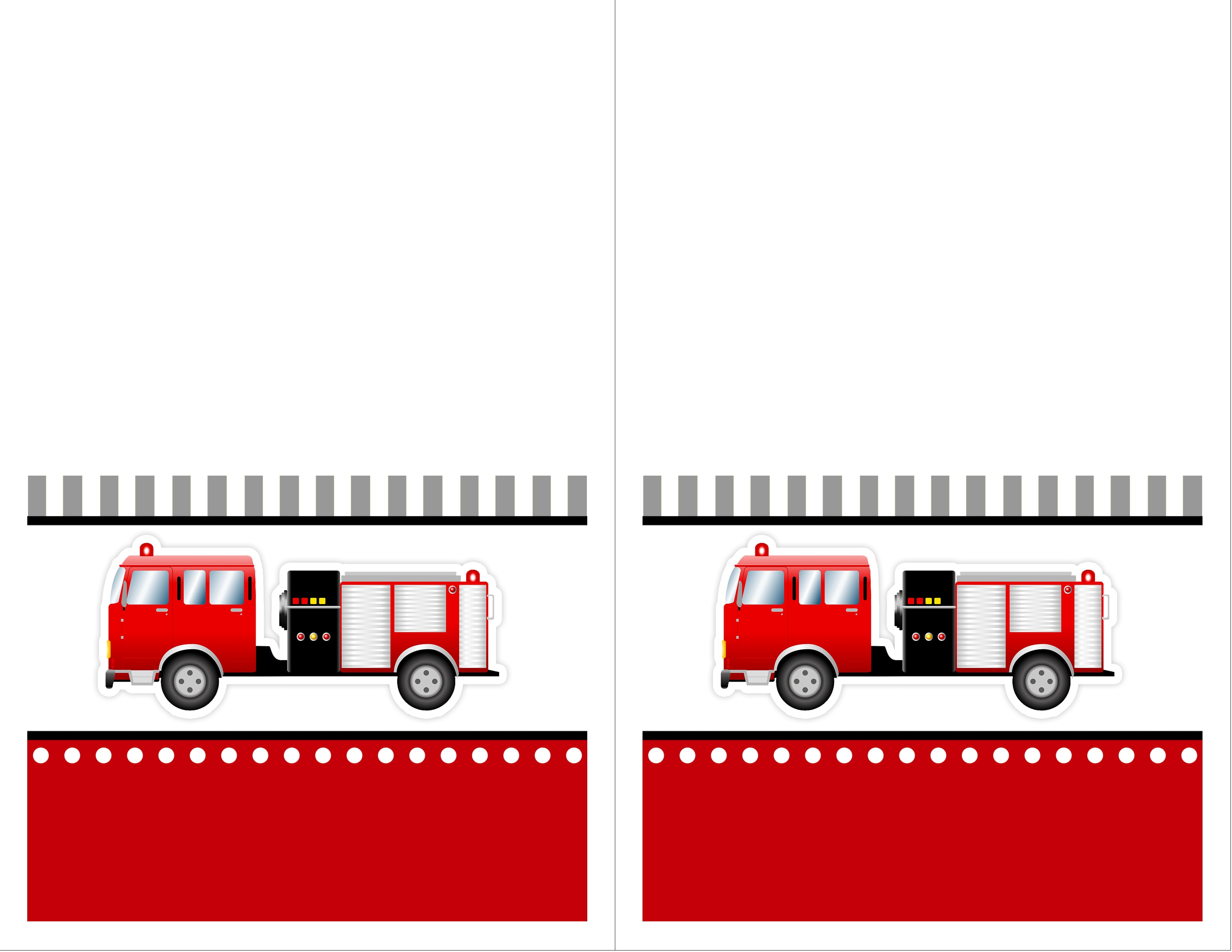 Fireman Sam 3d Wallpaper Fire Truck Birthday Party With Free Printables How To