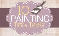 Painting 101 {for furniture, walls and more} - How to Nest ...