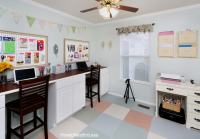 Craft Room Desk Tutorial - How to Nest for Less