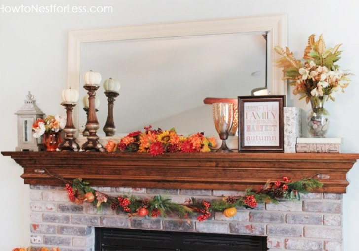 Decorating Mantel For Fall