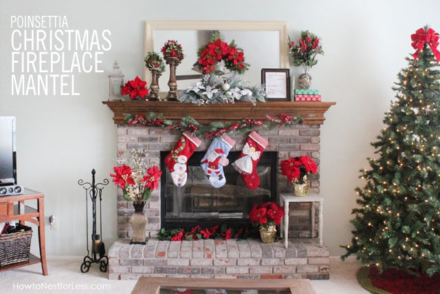 Our Christmas Mantel  How to Nest for Less