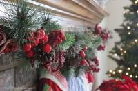 Our Christmas Mantel - How to Nest for Less
