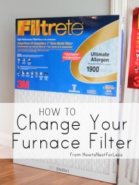 Home Maintenance: Changing your Furnace Filter - How to ...