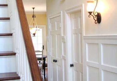 Oil Rubbed Bronze Door Knobs On White Door