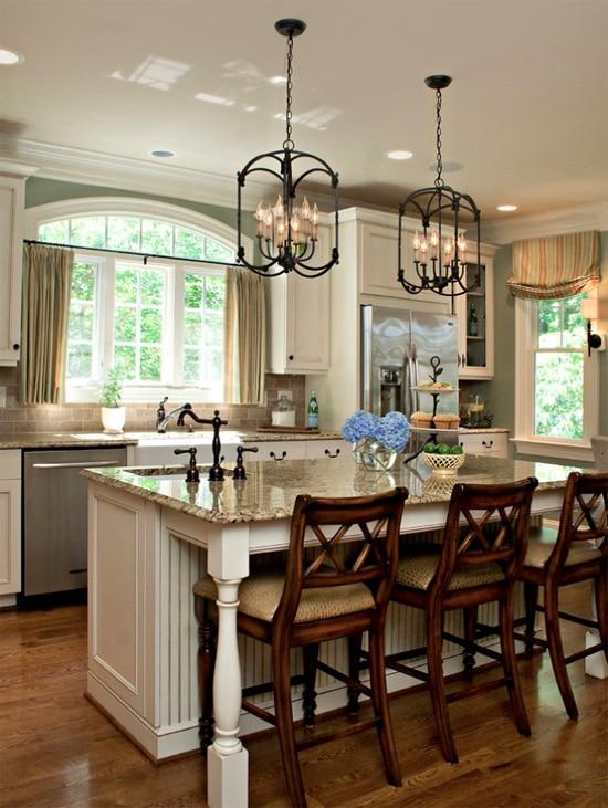 Bronze Kitchen Light Fixtures