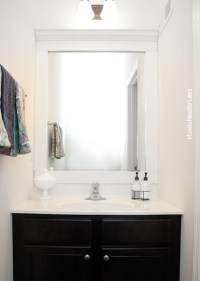 Powder Room Makeover - How to Nest for Less
