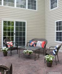 Backyard Patio Makeover - How to Nest for Less
