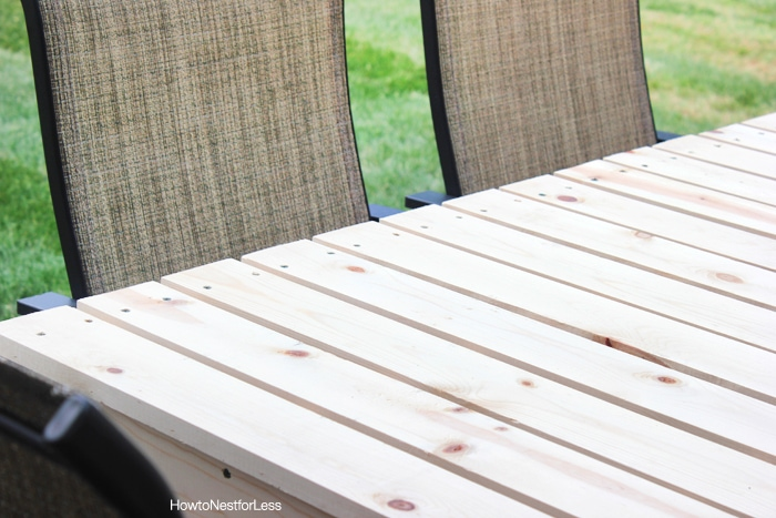 how to build a patio dining table how