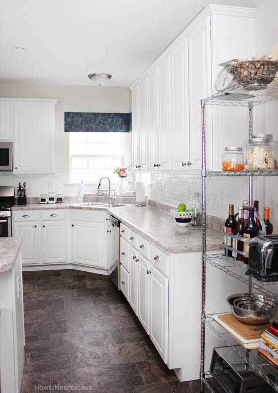 wine rack island kitchen stools the updated tour - how to nest for less™