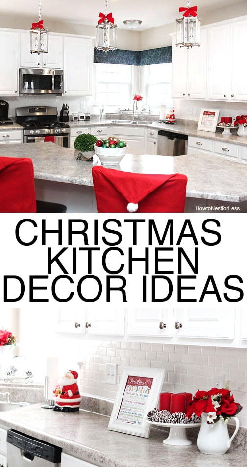 cheap white chair covers dining chairs uk christmas kitchen décor - how to nest for less™