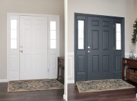 Painted Interior Front Door + GIVEAWAY - How to Nest for Less