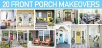 20 Front Porch Makeovers - How to Nest for Less