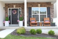 Patriotic Front Porch Makeover - How to Nest for Less