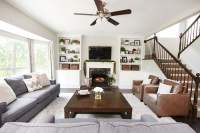 Family Room Makeover - How to Nest for Less