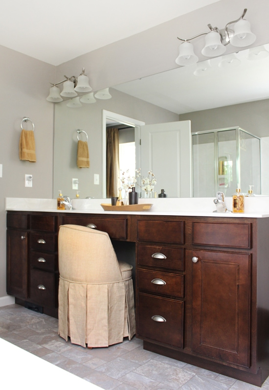 Master Bathroom Makeover  How to Nest for Less