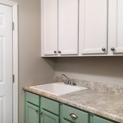 Best Off White Color For Kitchen Cabinets Extra Deep Sink Painted Laundry Room - How To Nest Less™