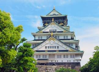 First visit to Japan