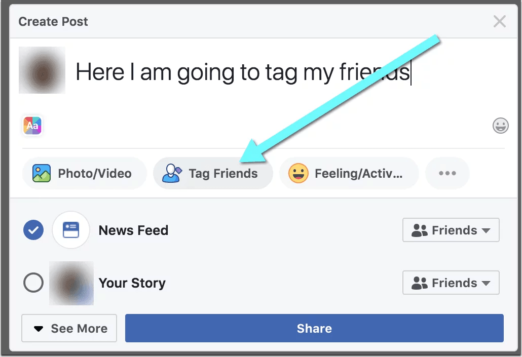 how to tag someone