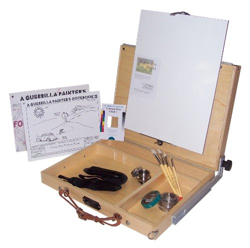 Guerrilla Painter French Resistance Oil and Acrylic Plein Air Kit, Large