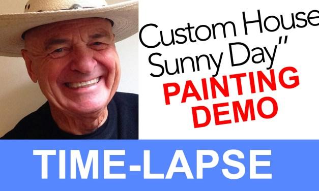 Custom House Sunny Day